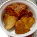 ダイエットおやつ☆高野豆腐の黒糖ジンジャーラスク
