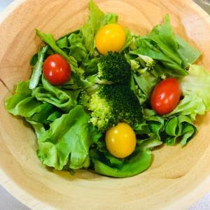 サラダ菜のサラダ
