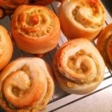秋のパン祭り!マロンクリームパン