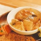 大根と豆腐の味噌煮【140kcal 脂質3.9g】