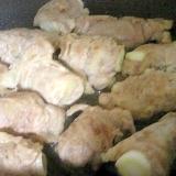 ネギの豚肉巻きシンプル塩焼き