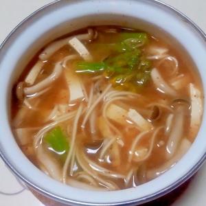 具だくさんの酸っぱ辛い煮麺++