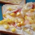 カニ風味かまぼこと枝豆のマヨチーズ