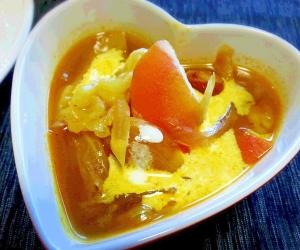 フライパン1つで*簡単* 野菜カレースープ☆