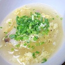 受験生の夜食に☆ 愛情いっぱい「春雨たまごスープ」