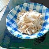 鶏としらたきの中華サラダ