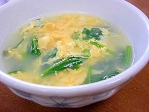ほうれん草と卵の中華スープ レシピ・作り方 by tukuyo93 楽天 ...