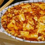 甘辛で美味しい!麻婆豆腐