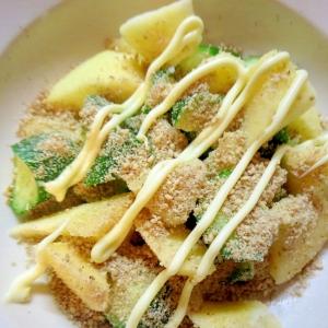 リンゴと胡瓜の胡麻マヨサラダ