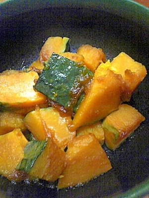 マーガリンをきかせて☆洋風かぼちゃ煮物☆
