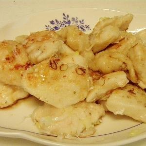 鶏むね肉のねぎポン酢