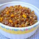 レンズ豆と挽肉のケチャ煮