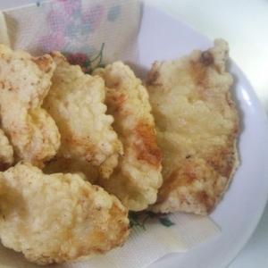 やわらかい!鶏むね肉の天ぷら