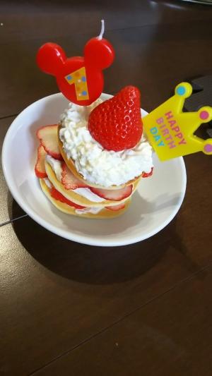 離乳食後期!誕生日ケーキ