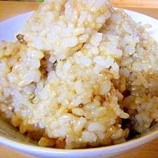 もっちり柔らかめ玄米(圧力鍋使用)