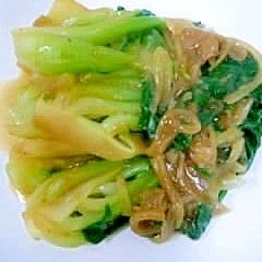中華の定番☆青梗菜のオイスターソース炒め
