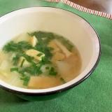 お揚げ&白菜☆お味噌汁