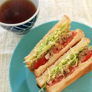 サバ缶と食パンで☆簡単サバサンド ランチにおすすめ