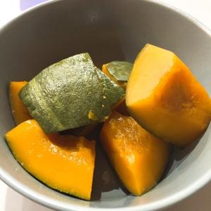 電子レンジで簡単★かぼちゃの煮付け