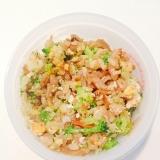 幼児食☆ブロッコリーときんぴらゴボウの炒飯