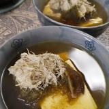 とろろ昆布の豆腐汁