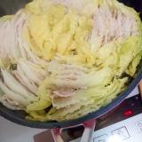 フライパンで作ってみました!ミルフィーユ鍋!