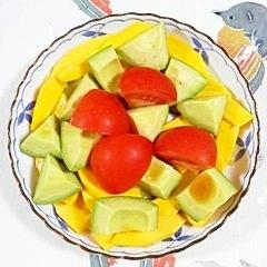 コリンキーのサラダ