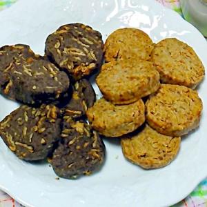 ざっくりヘルシー☆玄米フレーククッキー