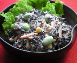 鉄分補給☆ひじきのマヨネーズサラダ