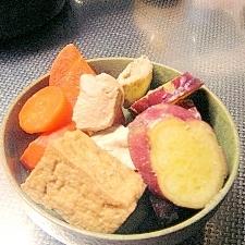おばんざい☆鶏肉とさつま芋と厚揚げの煮物