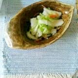 白菜の簡単浅漬け
