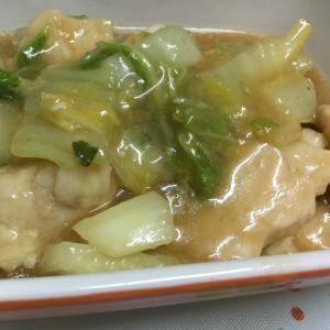 白菜と鶏むね肉の旨煮