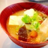 なめこ 豆腐 わかめの味噌汁♡