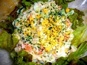 ルクエで、 簡単ポテトサラダ♪