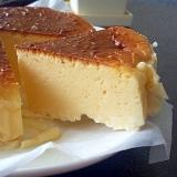 プロセスチーズでしっとり濃厚チーズケーキ