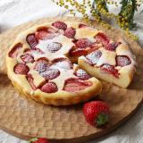セラベイクで、苺のヨーグルトチーズケーキ