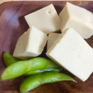 実家の味*高野豆腐と枝豆の煮物