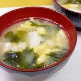 発酵&ネバネバパワー!叩き長芋とかき玉の味噌汁♪