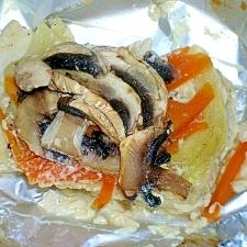 塩麹で♪白身魚のホイル焼き