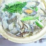 鱈とムール貝も入れて、温まる鍋物