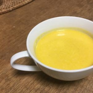 甘いかぼちゃスープ