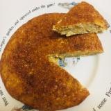 ノンシュガーカボチャとバナナの豆腐入りパンケーキ