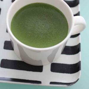 マグカップレシピ! 抹茶豆乳プリン