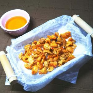 鶏皮消費☆さくさくカリカリおつまみ&鶏油