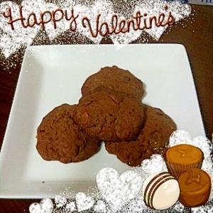 *アメリカンタイプのチョコクッキー*