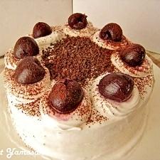 ふんわり♪ココア生地のスポンジケーキ
