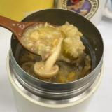 舞茸と生姜と花椒のオートミール約205kcal