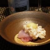 【宮城食材】鱈と鱈の白子のポン酢和え