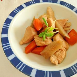 鶏肉と根菜の炒め煮