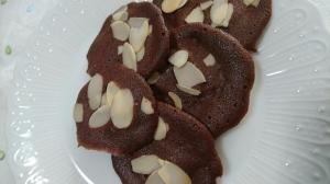 サクサク!ココアのチュイルクッキー